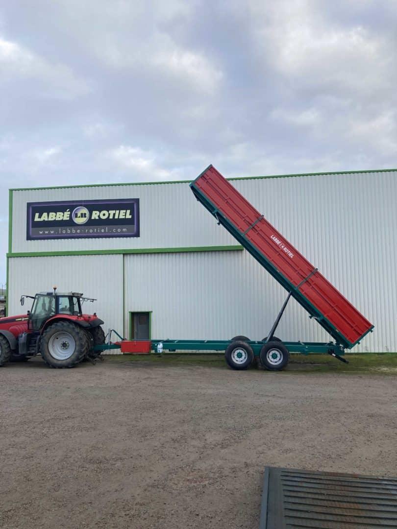 Remorque agricole betaillere legumiere Bretagne France - Accueil